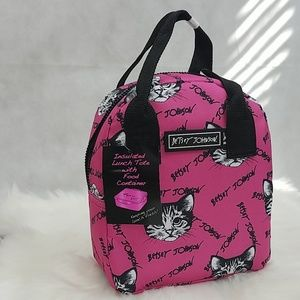 Betsey Cat Insulated Lunch Tote